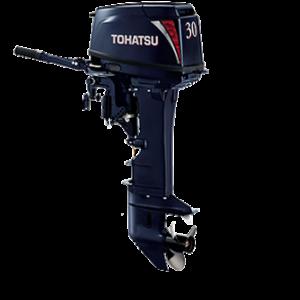 Лодочный мотор Tohatsu M 30 (2-тактный)