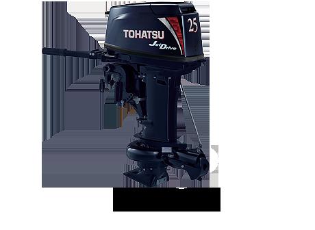 Лодочный мотор Tohatsu M 25 Jet (2-тактный)