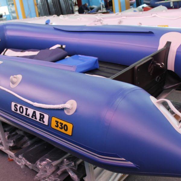 Надувная лодка Solar 330 Оптима килевая