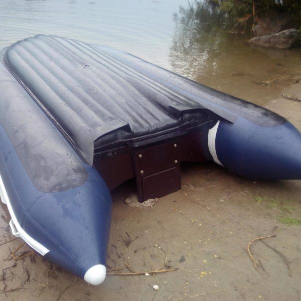Надувная лодка Solar 420 Jet тоннель водометная