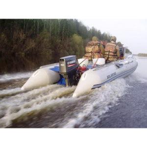 Надувная лодка Solar 555 Максима килевая