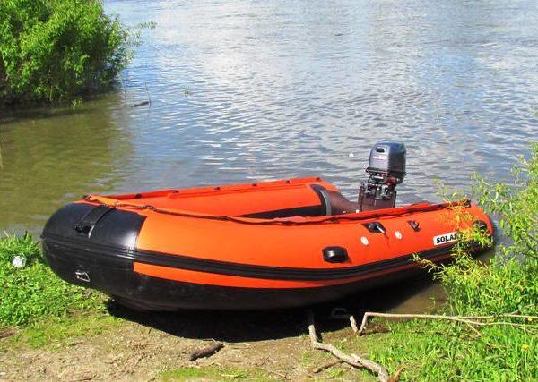 Надувная лодка Solar 450 Jet тоннель водометная