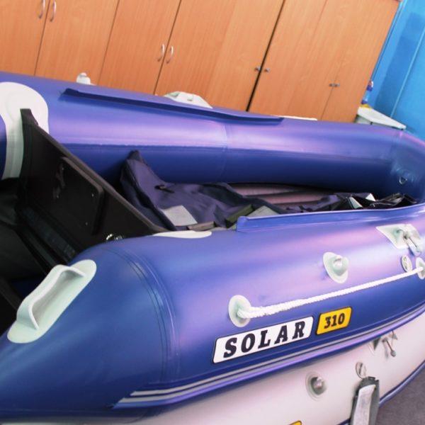 Надувная лодка Solar 310 Оптима килевая