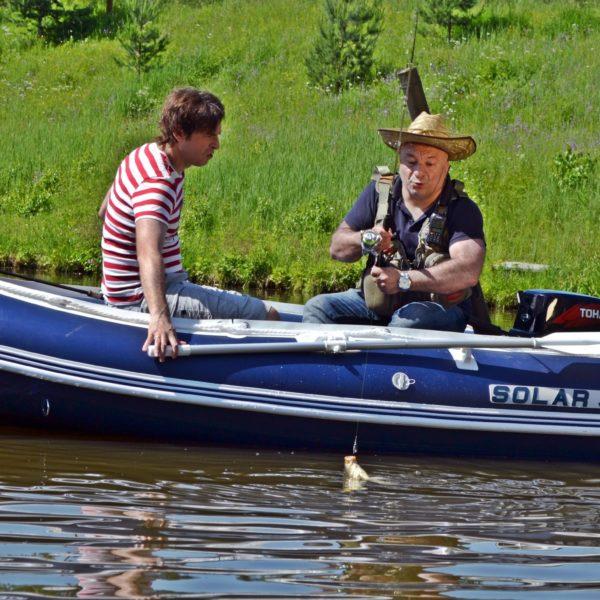 лодка солар 350 цена в москве