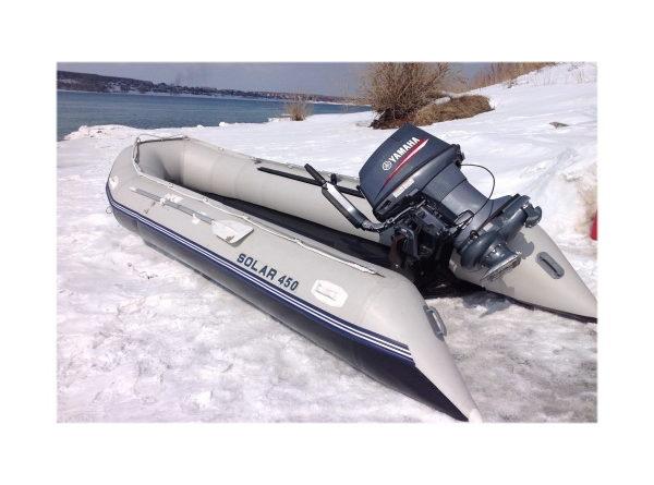 Надувная лодка Solar 450 МК малокилевая