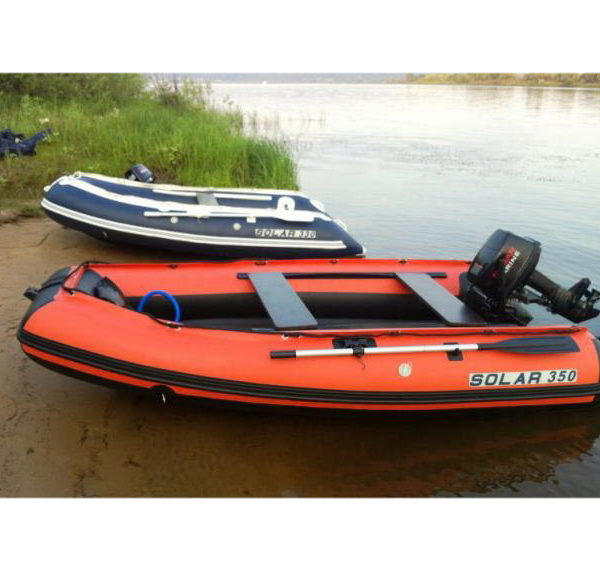 Надувная лодка Solar 350 Максима килевая