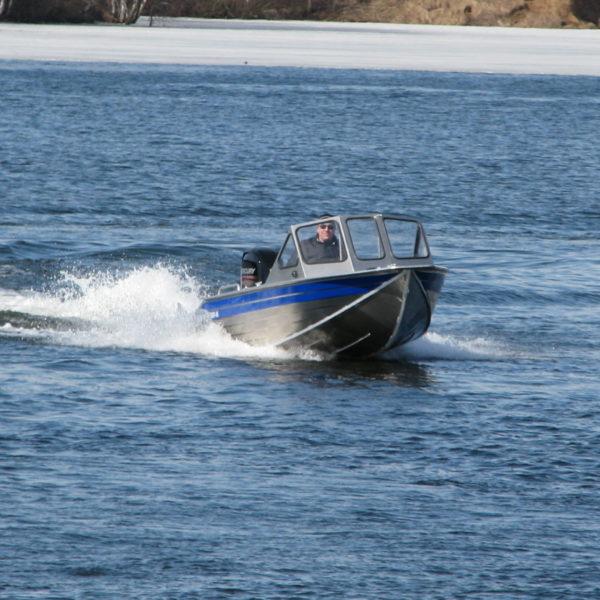 Моторная лодка РУСБОТ 45JET