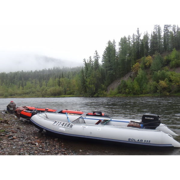 Надувная лодка Solar 555 МК малокилевая