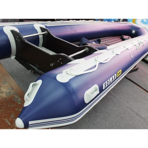 Надувная лодка Solar 600 Jet тоннель водометная