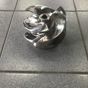 Импеллер стальной к водомётной насадке средней серии