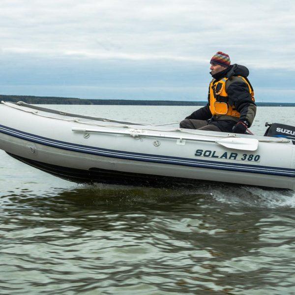 Надувная лодка Solar 380 Максима килевая