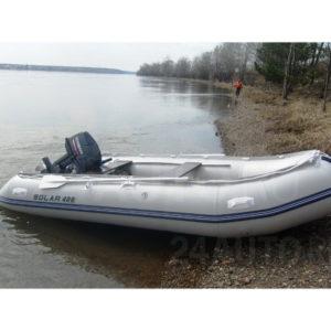 Надувная лодка Solar 400 МК малокилевая