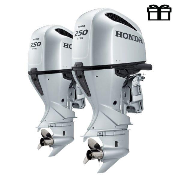 Лодочный мотор Honda BF250 DXDU + DXCDU (спарка)
